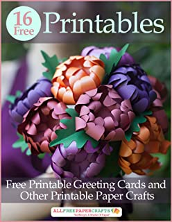 16 Free Printables: Free Printable Greeting Cards and Other Printable Paper Crafts