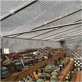 90% Reflektierend Aluminet Schatten Segeltuch Panel-Abdeckung Silber Schatten-Netz UV-beständig Stoff Mit Ösen 6,6 x 6,6 ft, Gartenmaschennetz Blume Pflanzendecke Überdachung Sonnensegel
