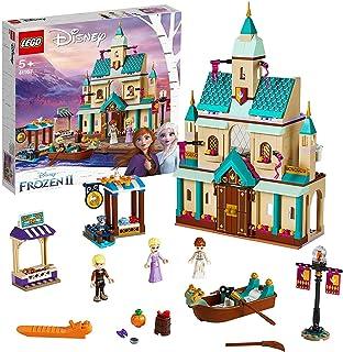 LEGO 41167 Disney Arendals slottsby, Frost Byggsats med Elsa, Anna och Kristoff Minifigurer, Barn 5+