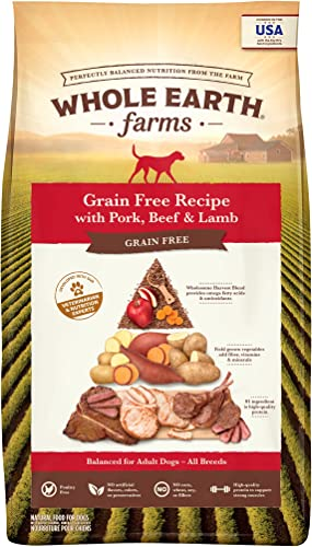 new arrival Whole Earth Farms discount Grain Free Dry new arrival Dog Food outlet sale