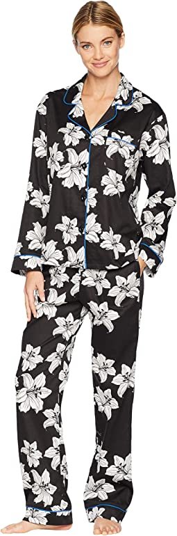 Classic Notch Collar Pajama Set