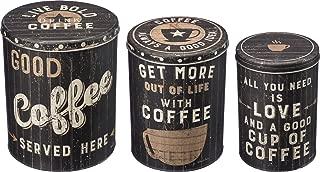 Primitives by Kathy Set of 3 Coffee Tin Bins