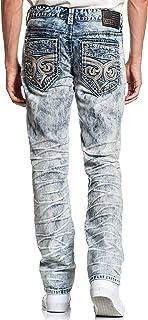 Affliction Gage Fleur Hazer Skinny Leg Fit Fashion Denim Jeans Pants for Men