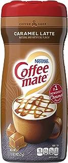 Nestle Coffee-Mate Coffee Creamer Caramel Latte, Pack of 6 (15 Ounce)