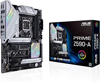 ASUS Prime Z590-A LGA 1200 (Intel®11th/10th Gen) ATX motherboard (14+2 DrMOS power stages,3x M.2, Intel® 2.5 Gb LAN, USB 3...