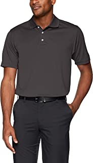 Pebble Beach Men's Horizontal Texture Short-Sleeve Polo