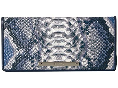 Brahmin Ady Wallet (Cobalt) Wallet Handbags