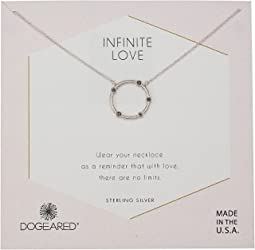 Dogeared - Infinite Love, Small Crystal Halo Necklace
