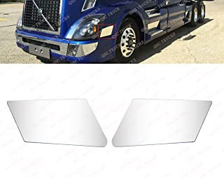 QSC Fender Chrome Trim Set Left Right Side for Volvo VNL 04-15 Trucks