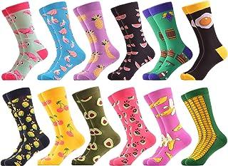 Calcetines Hasta La Hombre Estampados Hombres Ocasionales Calcetines Divertidos Impresos de Algodón de Pintura Famosa de Arte Calcetines Calcetines de Colores de moda