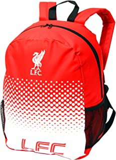 Liverpool FC Official Fade Crest Design Backpack