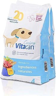 Vitacan Cachorro Croqueta, Alimento para Perro Formulado con Antioxidantes, DHA y Pre/Probióticos Set 2 Sacos de 4 Kg