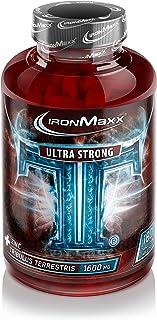 IronMaxx TT Ultra Strong – 100% Tribulus Terrestris – Pflanzliche Zink-Tabletten..