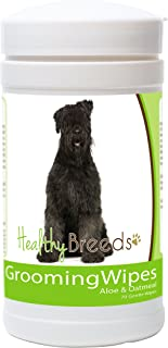 Healthy Breeds Dog Multipurpose Grooming Wipes with Aloe & Oatmeal - Over 200 Breeds - 70 Wipes