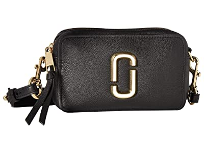 Marc Jacobs The Softshot 21 (Black) Handbags