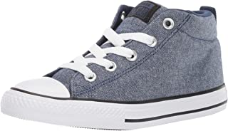 Converse Kids Chuck Taylor All Star Street Knotted Laces Mid Top Sneaker