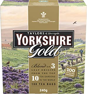 Yorkshire Tea Gold, 100 x 240 gm