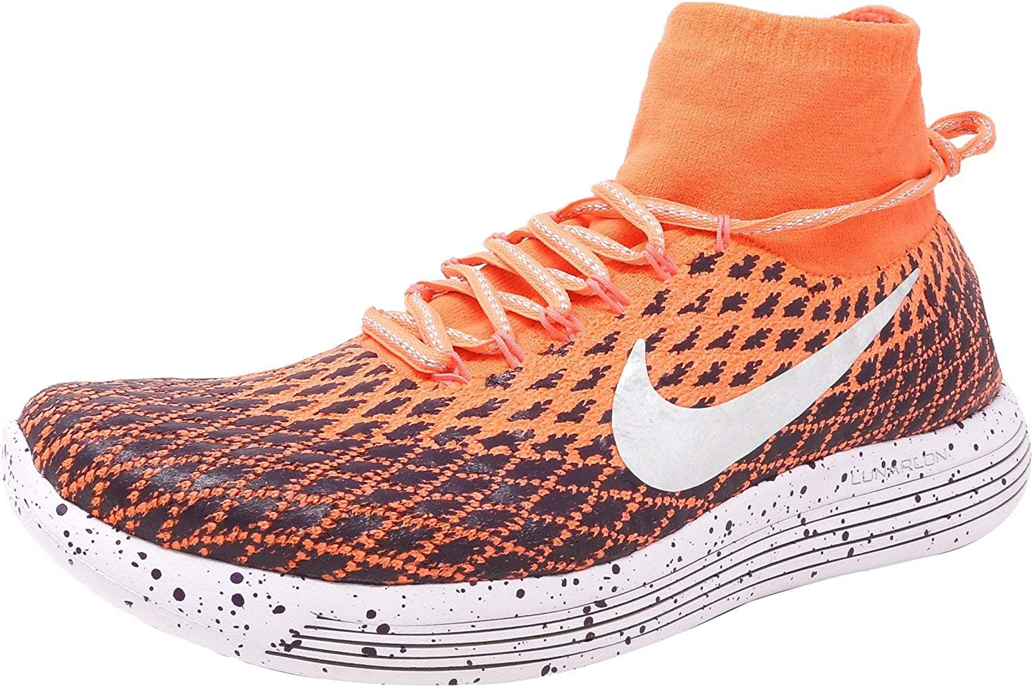 Nike Women's Lunarepic Flyknit Shield Ankle-High Fabric Running shoes