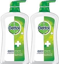 Dettol Anti Bacterial pH-Balanced Body Wash, Original, 21.1 Oz/625 Ml (Pack of 2)