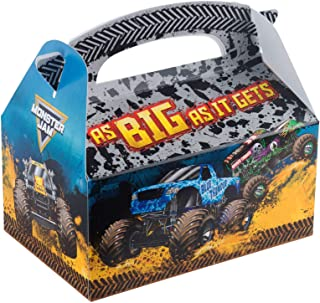 Monster Jam Party Supplies 12 Pack Favor Box