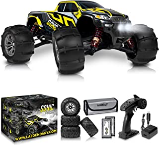 1:16 Brushless Large RC Cars 60+ kmh Speed - Kids and Adults Remote Control Car 4x4 Off Road Monster Truck Electric - Hobb...