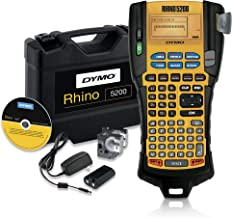 DYMO Industrial Label Maker & Carry Case | RhinoPRO 5200 Label Maker, For Job Sites and Heavy-Duty Labeling Jobs, Prints F...