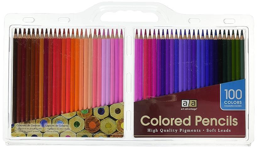 Art Advantage Artist Pencil Set, 100 Colors