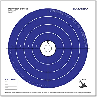 Perfect Strike ARCHERY System Targets. CLASSIC OPS No. 009. Heavy paper practice targets. Great for improving accuracy. Replacement faces to refresh portable targets. 12
