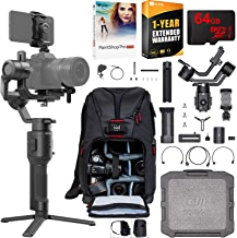 $539 » DJI Ronin-SC Pro Combo 3-Axis Gimbal Stabilizer for Mirrorless Cameras Pro Creative Bundle with Deco Photo Backpack + 64GB High Speed Card + Corel Paintshop Pro Software + 1 Year Warranty Extension