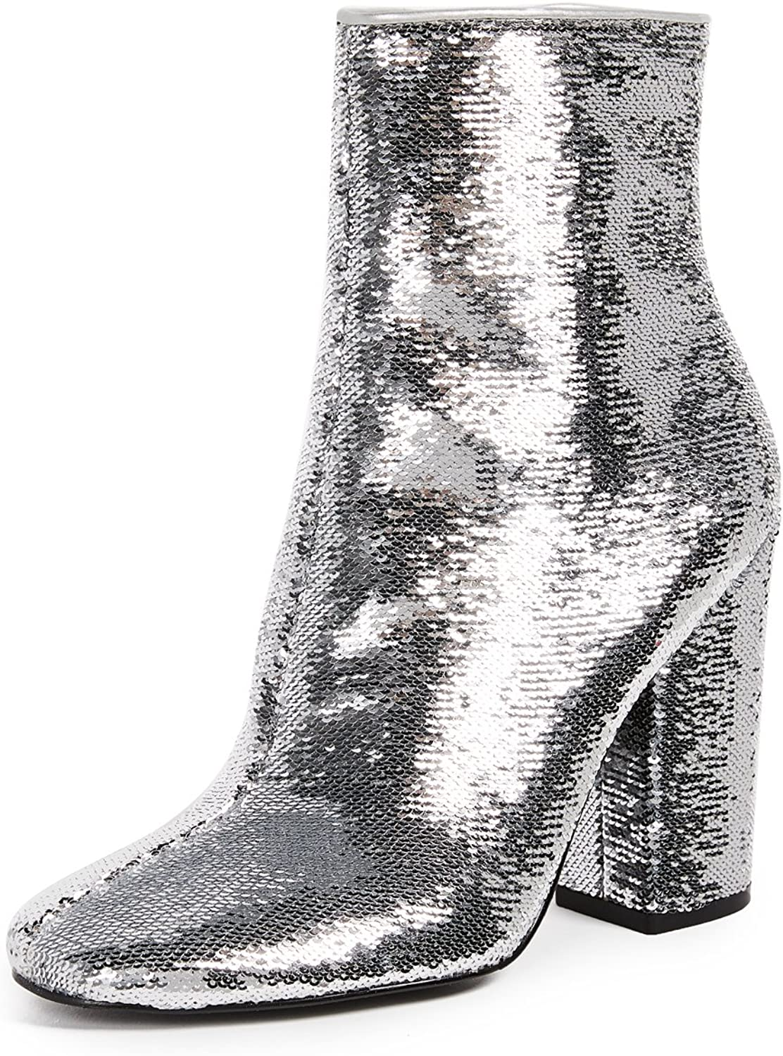 KENDALL + KYLIE Womens Haedyn5 Sequined Block Heel Booties