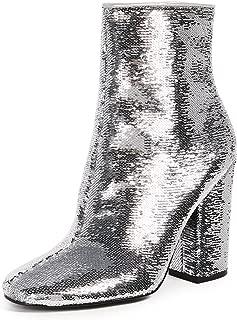 Best silver heel boots Reviews