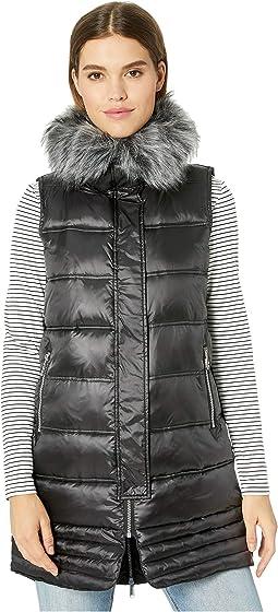 Faux Fur Puffer Vest
