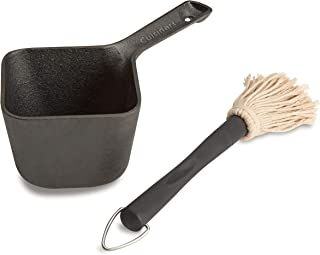 Cuisinart CBP-300 Cast Iron Basting Pot and Brush-for Grilling