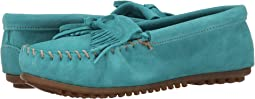 Turquoise Suede