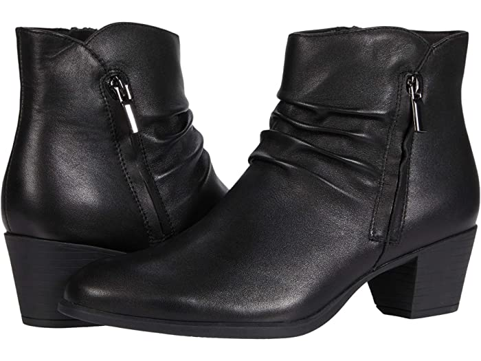Munro Elliot (Black Leather) Women's Boots