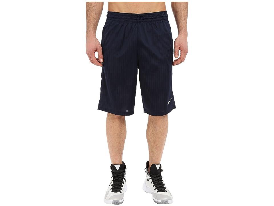 Nike Layup Shorts 2.0 (Obsidian/Obsidian/Obsidian/White) Men