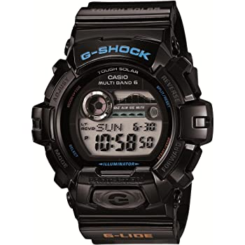 [カシオ] 腕時計 ジーショック G-LIDE 電波ソーラー GWX-8900-1JF ブラック
