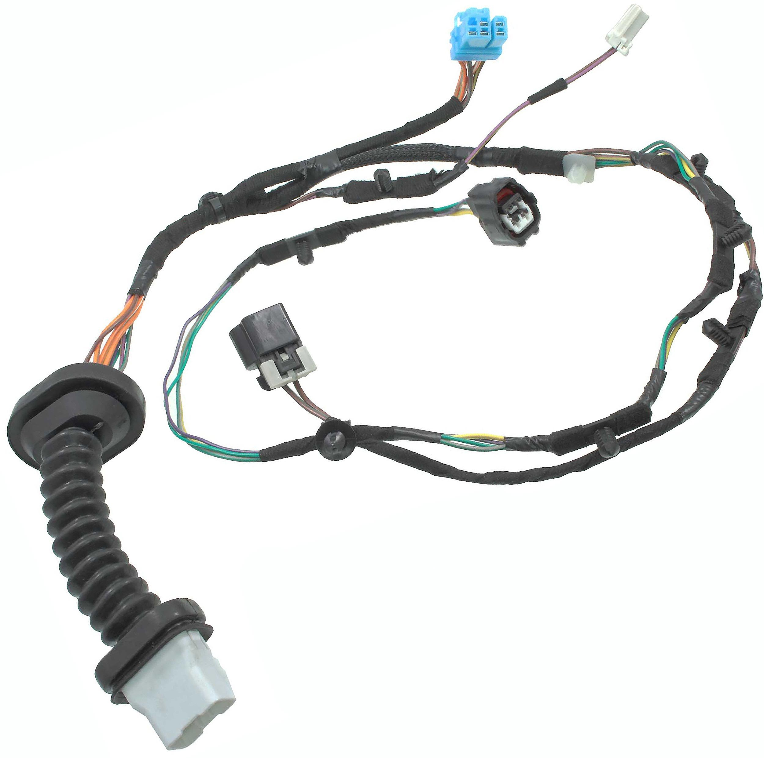 Amazon.com: APDTY 756617 Power Door Lock Wire Wiring Pigtail Connector  Harness Replacement For Rear Left or Rear Right Door On 2004-2005 Dodge Ram  1500 2500 3500 Crew Quad Cab Pickup (Replaces 56051931AB): AutomotiveAmazon.com