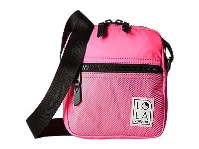 LOLA Starlight Crossbody (Laser Pink) Handbags