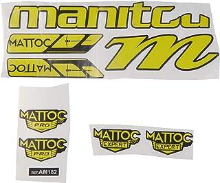 Ecoshirt 1B-QMEK-BBM5 Pegatinas Stickers Fork Manitou Mattoc Pro Expert Am182 Aufkleber Decals Autocollants Adesivi Forcel...