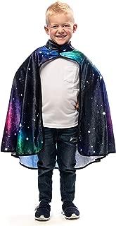 Galaxy Wizard Costume Cape Age 3+ Black