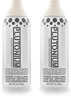 Plutonium Paint Ultra Supreme Professional Aerosol Spray Paint, 12-Ounce, Polar (2 Pack)