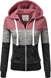 Best lavender zip up hoodie Reviews