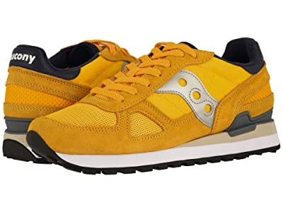 Saucony Originals Shadow Original (Yellow/Navy) Men