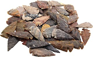 Crystalo - Set of 25 Indian Arrowheads Agate New Replica 3 Inches Long