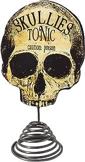 Bethany Lowe Apothecary Skull Halloween Mini Tree Topper