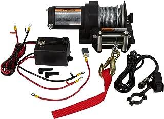 ironton 12 volt dc powered electric atv winch