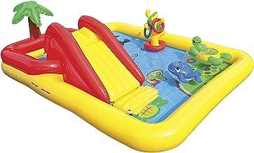 Intex 57454NP - Centro juegos hinchable tobogán 254 x 196 x 79 cm, 507 litros