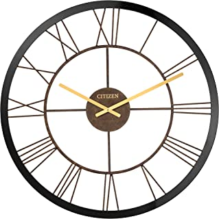 Citizen Clocks Citizen CC2042 Gallery Wall Clock, Black