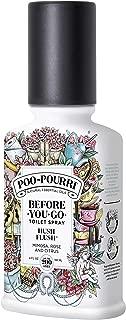 Poo-Pourri Before You Go Toilet Spray Hush Flush 4 Ounce Bottle